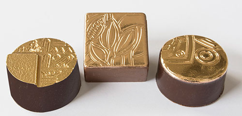 edible gold chocolates