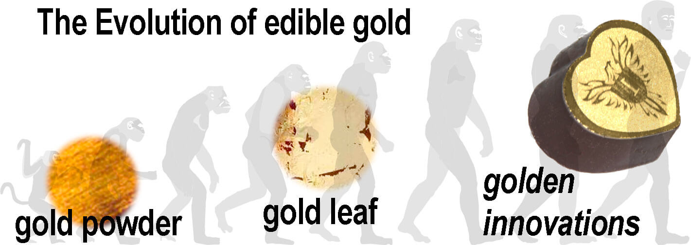 The evolution of edible Gold